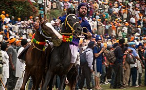 Anandpur Sahib - Anandpur Sahib is the site for the annual Hola Mohalla gathering and martial sports.