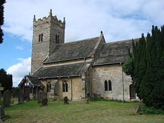 Holy Trinity Church, Little Ouseburn Church in North Yorkshire, England