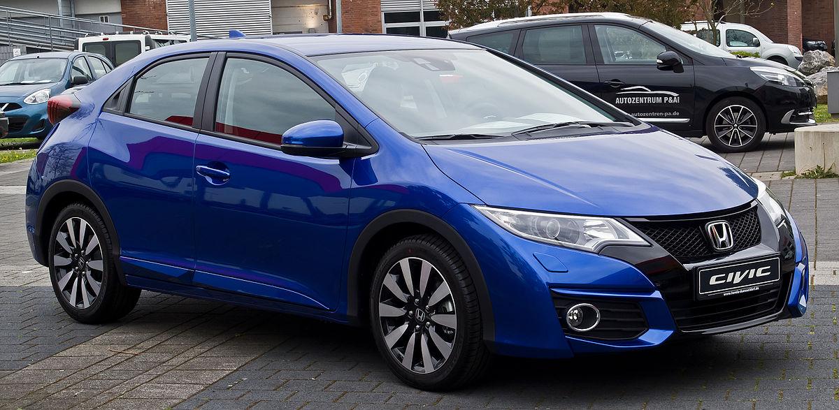 Honda Civic Hrv 2016 >> Honda Civic – Wikipedia