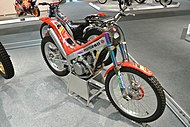 Honda Trial Motorcycles 3 in the honda collection hall.JPG