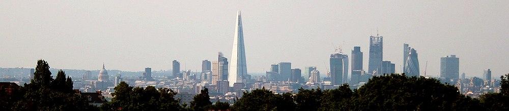 Horniman London skyline 2013