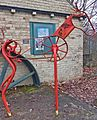 Horse sculpture at Bradford Industrial Museum (8466405636).jpg