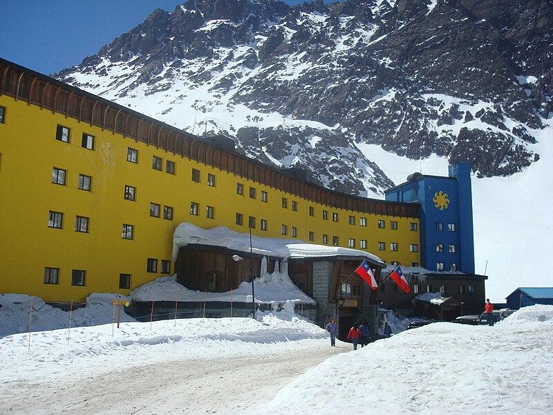 Estações de esqui na América do Sul