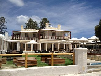 Colonial buildings of Rottnest Island - Hotel Rottnest