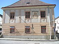 House on Breitgasse, Weitra 05.JPG