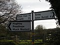 How far is it to Much Wenlock^ Anyway, where are we^ - geograph.org.uk - 740888.jpg