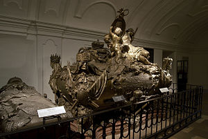 Imperial Crypt - Sarcophagus of Emperor Charles VI