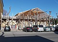 Huber house under roof reconstruction, 2019 Kalocsa.jpg