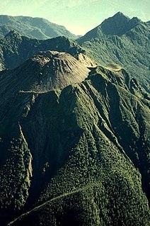 Huequi mountain in Chile