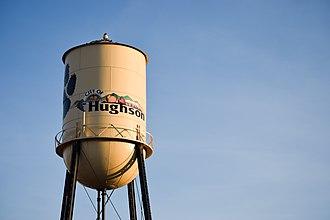 Hughson, California - Image: Hughson California Water Tower
