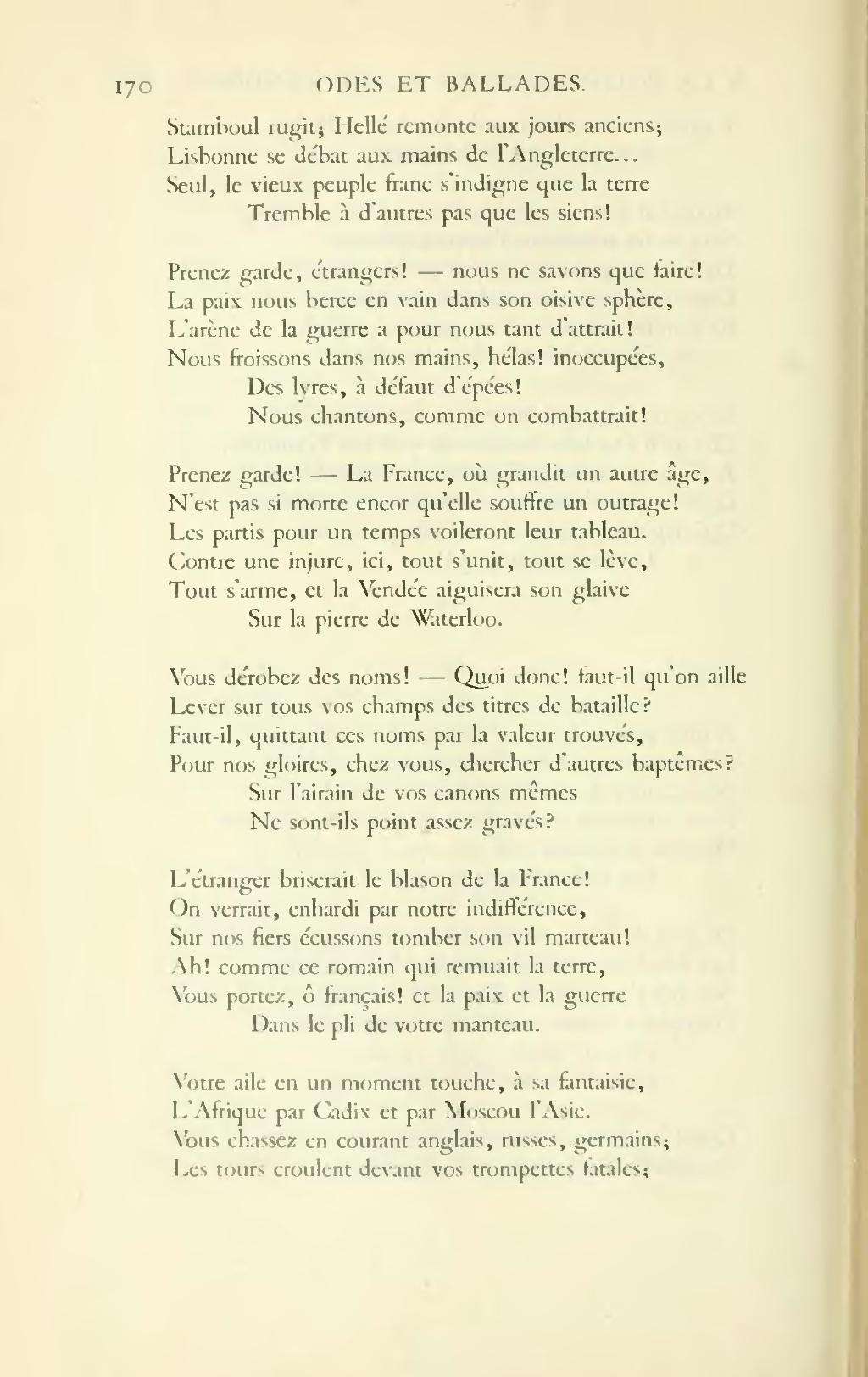 Pagehugo œuvres Complètes Impr Nat Poésie Tome I