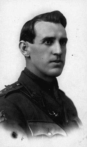 Hugo Throssell - Hugo Throssell VC c.1918