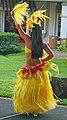 Hula dancer performing in Tahitian outfits (4828530607).jpg