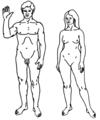 Billede af en mand og en kvinde.