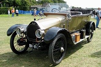 Torpedo (car) - 1914 Humber 11 torpedo