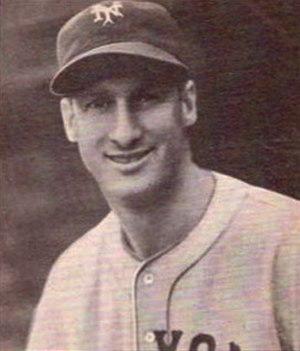 Hy Vandenberg - Image: Hy Vandenberg 1940 Play Ball card