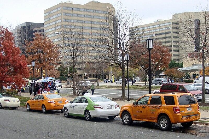 Toyota Arlington Va >> File:Hybrid Taxis Arlington VA 11 09 7909.jpg - Wikimedia
