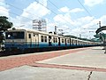 Hyderabad bound MMTS Local at Necklace Road Station 02.jpg