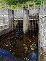 Hydro tunnel outflow at Loch Lednock - geograph.org.uk - 1401980.jpg