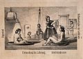 Hydrotherapy; eight vignettes of different cures at Wellcome V0016694.jpg