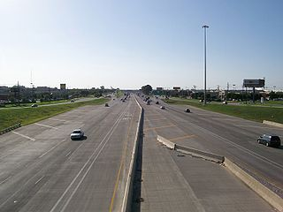 Interstate 35E (Texas) Highway in Texas