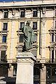 IMG 3066 - Milano - Monumento a Parini in P.za Cordusio - Foto G. Dall'Orto - 3-1-2007.jpg