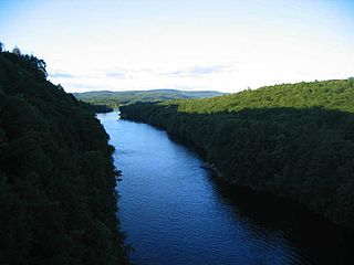 Connecticut River River in the New England region of the United States