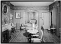 INTERIOR, FRONT PORLOR LOOKING TO BACK PARLOR - Bowen House, Woodstock, Windham County, CT HABS CONN,8-WOOD,1-11.tif