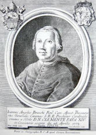 Pope Pius VI - Cardinal Braschi c. 1773