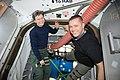 ISS-52 Peggy Whitson and Jack Fischer are pictured packing up gear.jpg