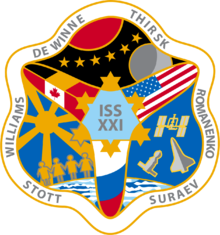 Description de l'image  ISS Expedition 21 Patch.png.
