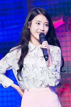 IU at Sudden Attack finals, 1 March 2016 06.jpg