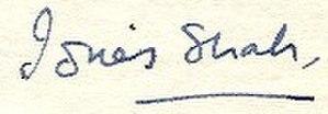 Idries Shah - Image: Idries Shah Signature