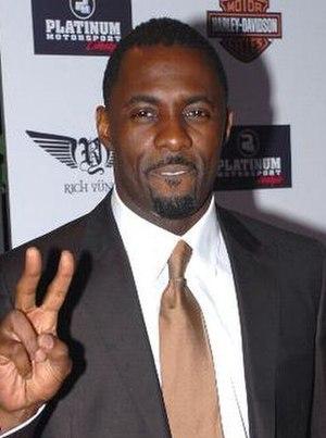 Idris Elba - Elba at the American Music Awards in 2007