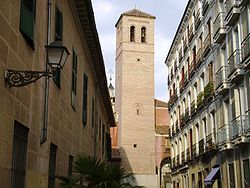 PROPUESTAS DE RULADA DE LA COMUNIDAD DE MADRID - DOMINGO 8 DE MARZO 250px-Iglesia_de_San_Pedro_el_Viejo