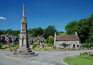 Ilam, Staffordshire village in United Kingdom
