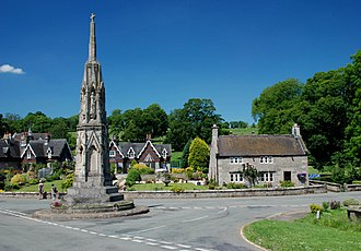 Ilam, Staffordshire - Ilam Cross