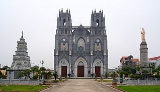 Basilica of Immaculate Conception, Phu Nhai - Image: Immaculate Conception church, Nhai Phú