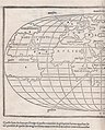 "In his ""Isolario"" (Venice, 1528), a catalogue of the world's islands, Benedetto Bordone (1460-1531) first offered an oval depiction of the world west half.jpg"