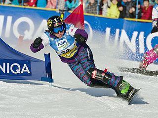 Ina Meschik Olympic snowboarder