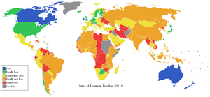 English: The 2010 Heritage Foundation Index of...