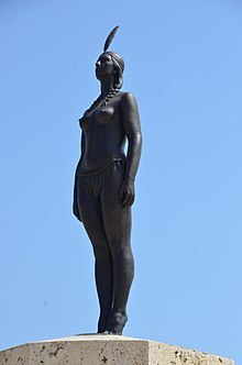 India Catalina Statue, Cartagena, Colombia (24527547921).jpg
