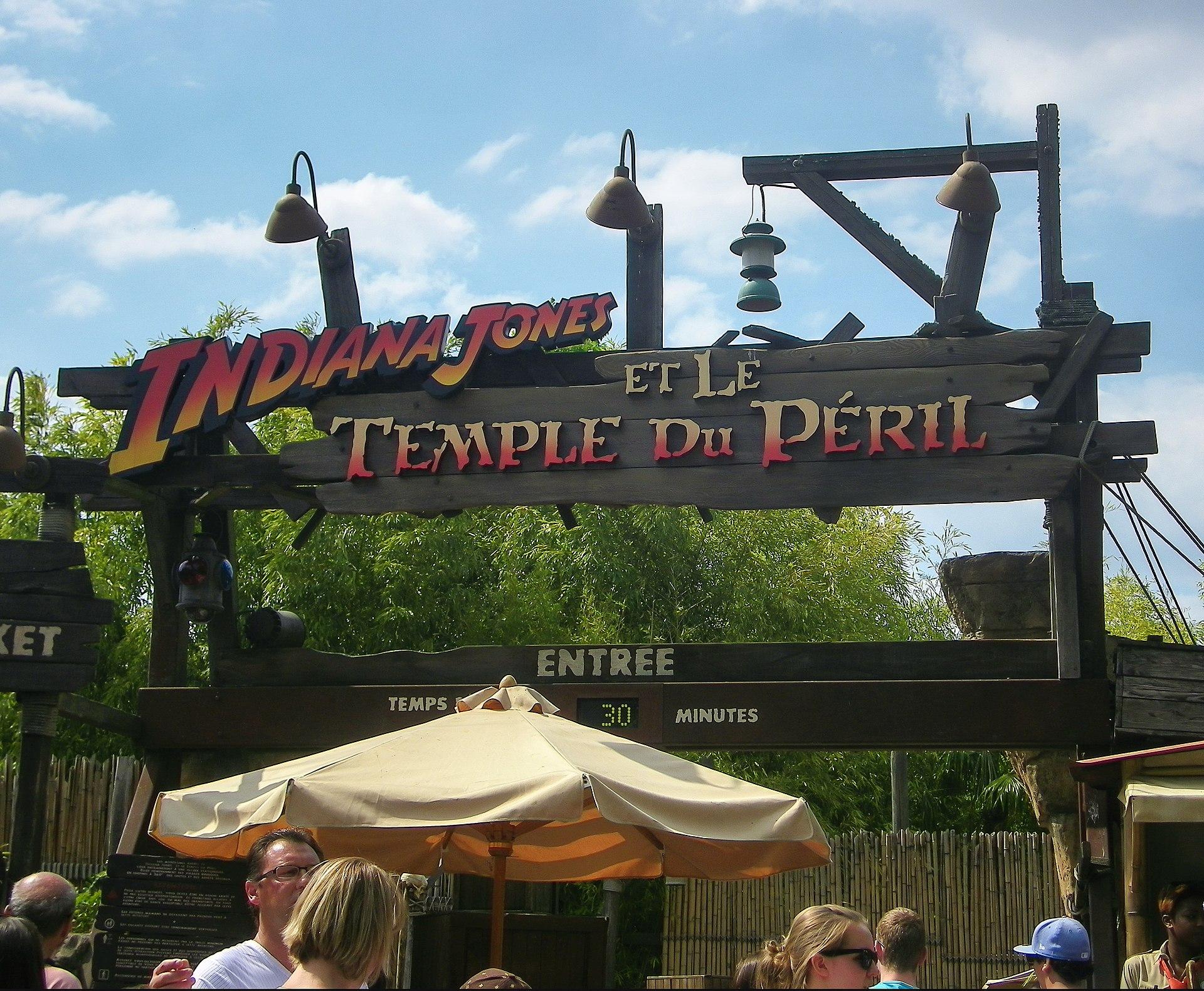 Indiana Jones Et Le Temple Du P 233 Ril Wikipedia