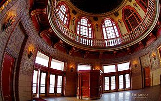 Indiana Theatre (Terre Haute, Indiana) - Indiana Theatre rotunda