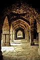 Inside Khirki Masjid.jpg