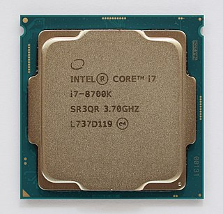 Coffee Lake Eighth-generation Intel Core microprocessor family
