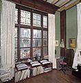 Interieur, venster met glas-in-lood in de voorkamer - Amsterdam - 20399243 - RCE.jpg
