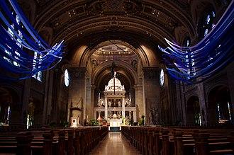 Basilica of Saint Mary (Minneapolis) - Interior of the Basilica of Saint Mary