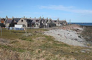 Inverallochy and Cairnbulg - Houses by the sea