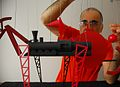 Iosef Yusupov working on the train model for the 2014 Olympic Opening Ceremony.jpeg